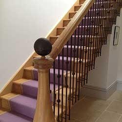 Kevin Thomson Painter Decorator Aberdeen Alford Staircase Thumb